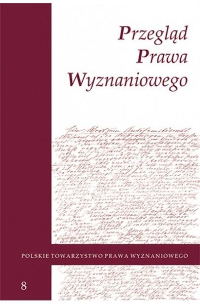 Przegląd Prawa Wyznaniowego, t. 8 (2016)