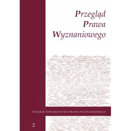 Przegląd Prawa Wyznaniowego, t. 2 (2010)