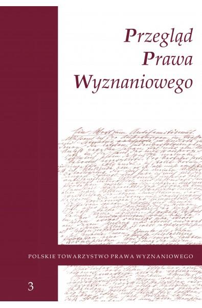 Przegląd Prawa Wyznaniowego, t. 3 (2011)