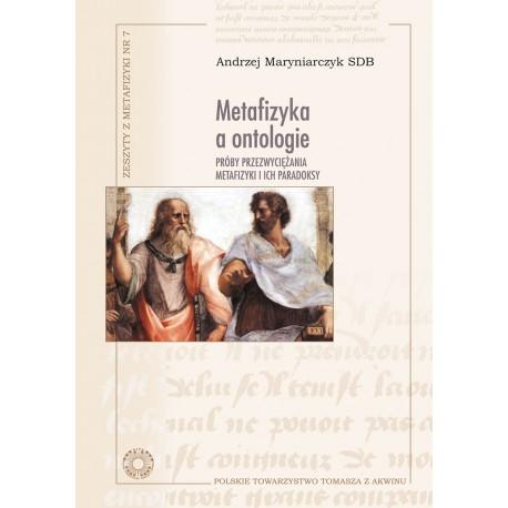 Metafizyka a ontologie