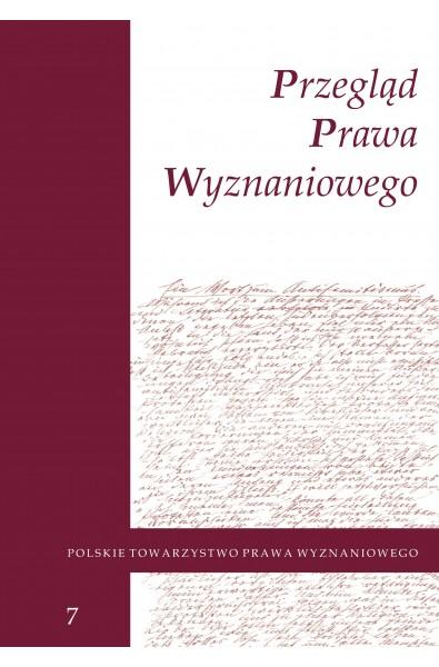 Przegląd Prawa Wyznaniowego, t. 7 (2015)