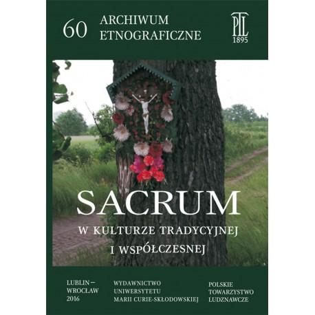 Sacrum w kulturze tradycyjnej i współczesnej