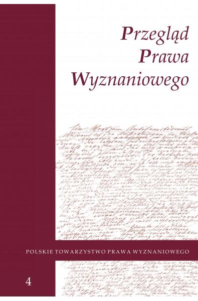 Przegląd Prawa Wyznaniowego, t. 4 (2012)