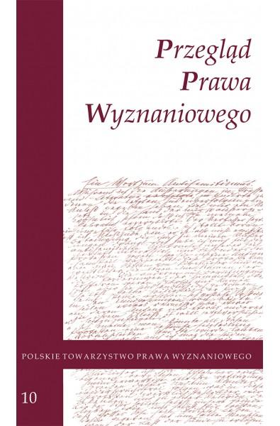 Przegląd Prawa Wyznaniowego, t. 10 (2018)