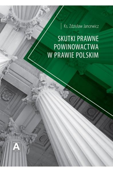 Skutki prawne  powinowactwa w prawie polskim