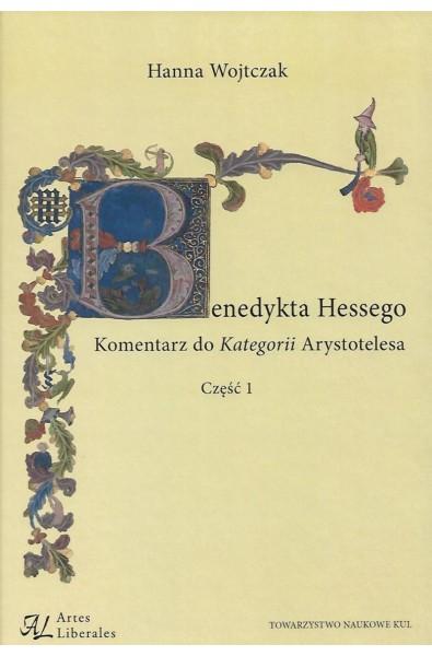 Benedykta Hessego Komentarz do Kategorii Arystotelesa Część 1