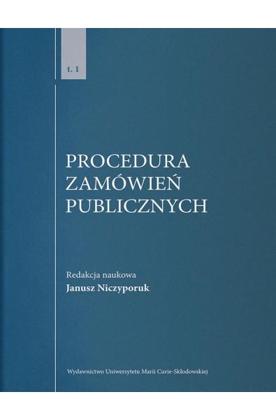 Procedura zamówień publicznych, t. 1