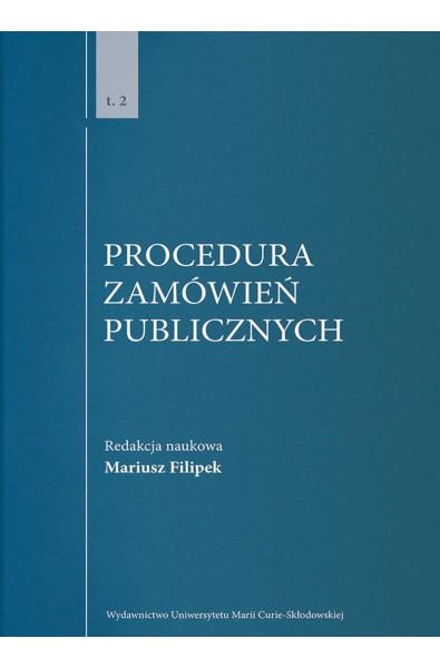 Procedura zamówień publicznych, t. 2
