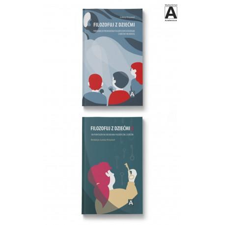 Filozofuj z dziećmi – t. 1 i 2 (pakiet)